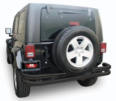 rampage tubular bumper stainless rear 86648
