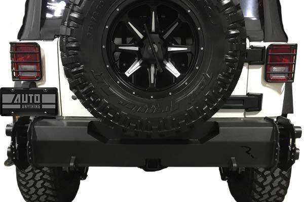 2009 Jeep Wrangler Rampage TrailGuard Rear Bumper