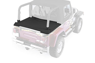 Rampage Cab Top Tonneau Cover Black-2