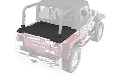 Rampage Cab Top with Tonneau Cover Black tonn