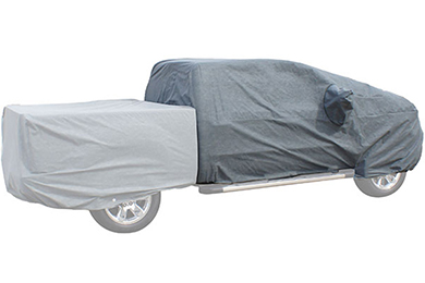 rampage easyfit 4 layer truck cover cab section sample