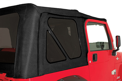 rampage jeep fabric diamond black tinted