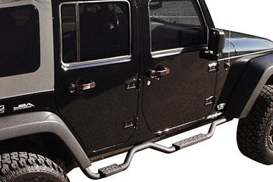 rampage slimline nerf bars jeep