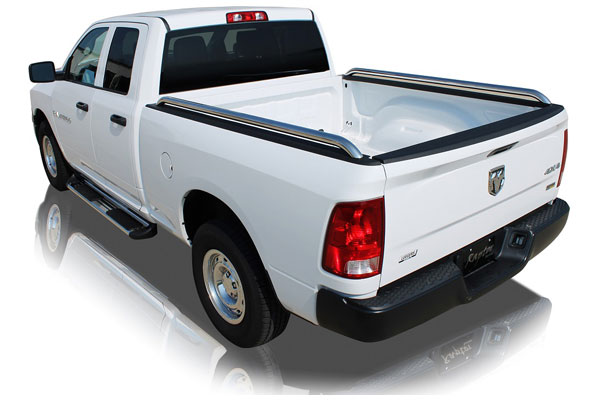 raptor tubular truck bed rails univeral sample