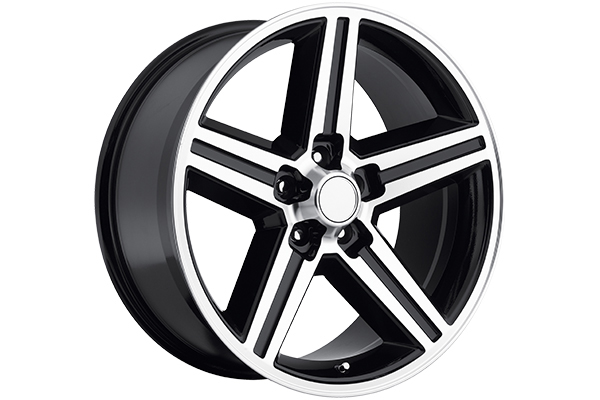 rev classic 652 wheels machined face with black accents