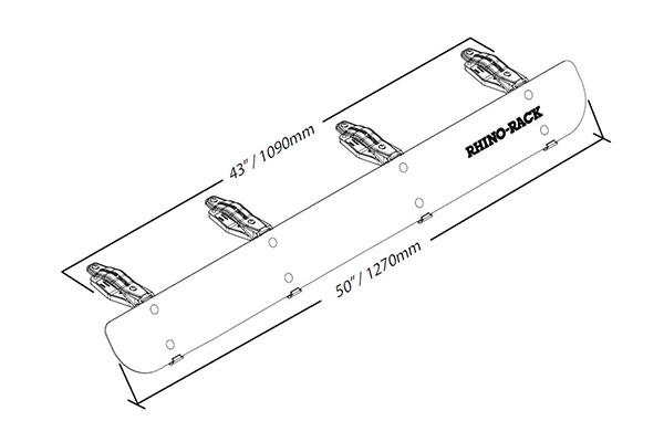 rhino-rack rf4 - rhino-rack fairings