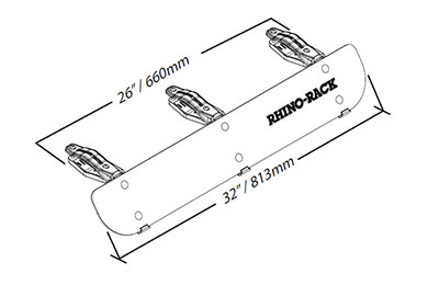 rhino rack fairing rf1