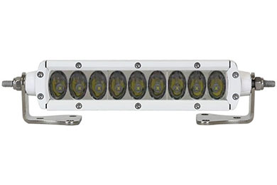 rigid industries sr2 series led light bars driving light beam pattern whote 6 in sample