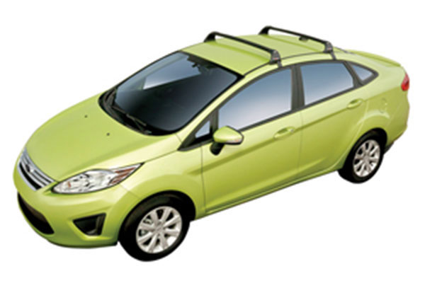 2014 Ford Fiesta Hatchback Without Factory Roof Rails