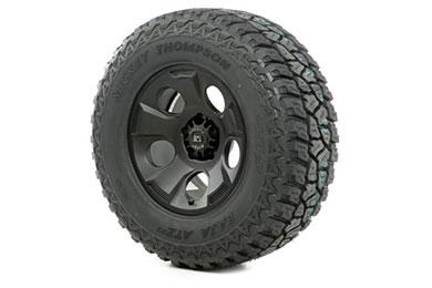 rugged ridge drakon wheel tire package satin black sample