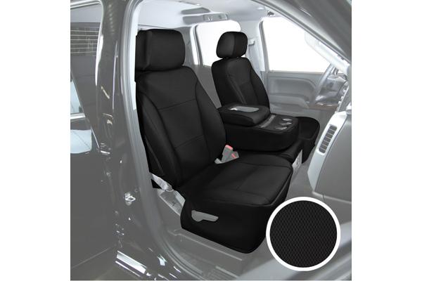 saddleman cambridge tweed seat covers black sample
