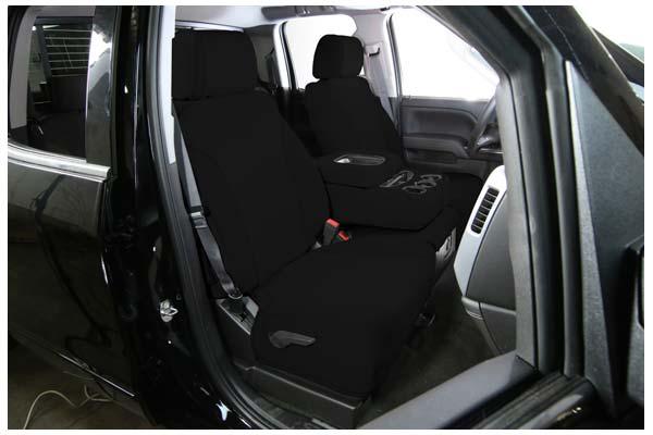 saddleman neoprene seat covers black black sample