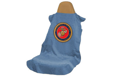 seat armour military logo towel seat covers marines