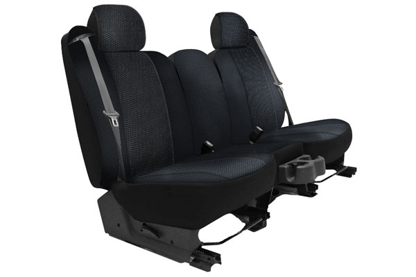 2016 Jeep Wrangler Seat Designs Cool Mesh Seat Covers in Black, Rear Seat Cover