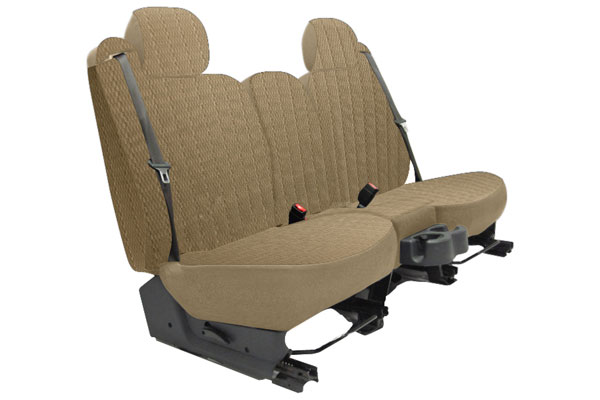 Seat Designs Scottsdale Seat Covers in Toast, Rear Seat Cover