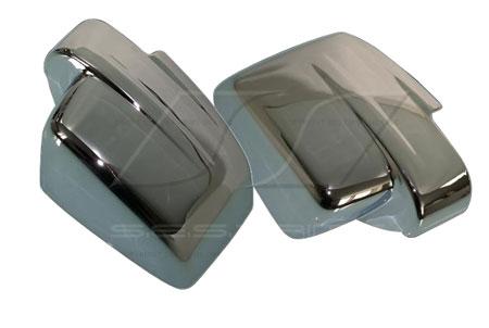 ses chrome mirror covers mc119f