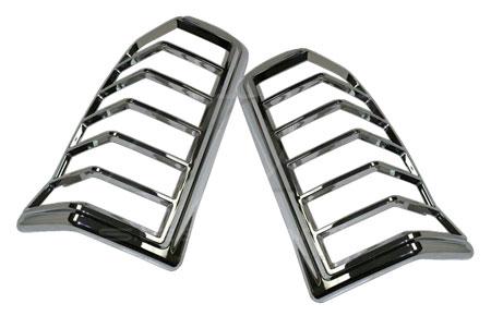 ses chrome trim tail light covers cadillac-escalade-suv-02-tl114 01