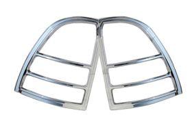 ses chrome trim tail light covers chevy-trailblazer-02-tl125 01
