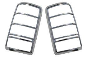 ses chrome trim tail light covers dodge-nitro-07-tl139 01