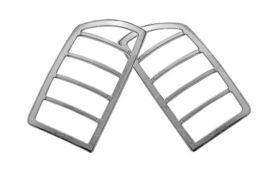 ses chrome trim tail light covers dodge-ram-02-tl106 01