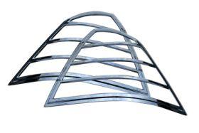 ses chrome trim tail light covers ford-500-05-tl122 01