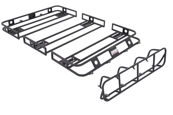 smittybilt defender roof rack bolt together light cage sample