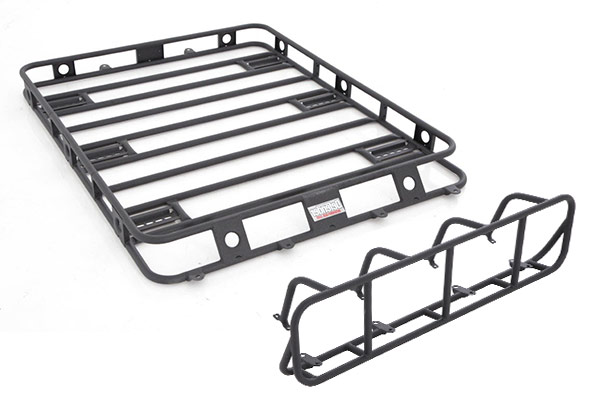smittybilt defender roof rack light cage sample