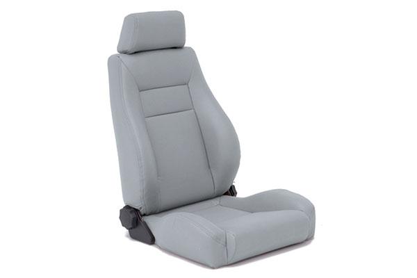 smittybilt jeep seats contoured sport front denim grey