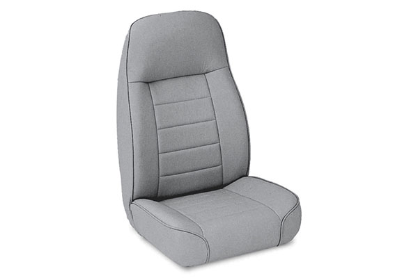 smittybilt jeep seats standard front denim grey