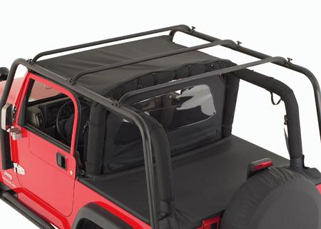 smittybilt src jeep roof rack no basket