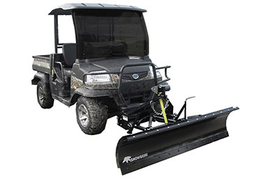 snowbear utv snow plow sample