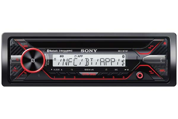 Sony MEX Series In-dash Stereo Receivers, Marine CD Receiver
