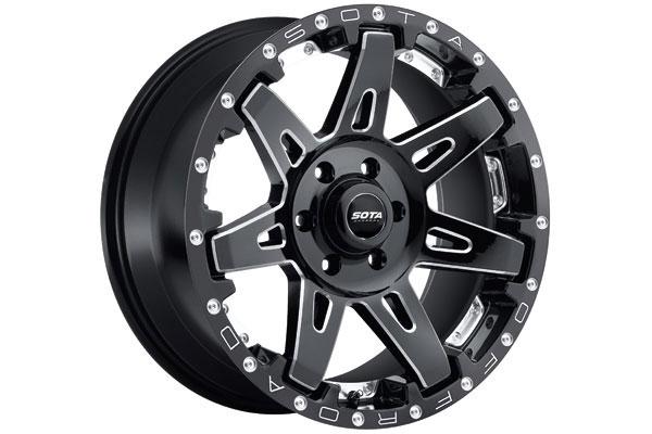 sota batl wheels 6 lug death metal black sample