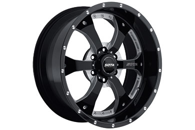 sota novakane wheel 6 lug death metal black sample