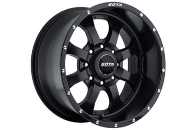 sota novakane wheel 8 lug stealth black sample