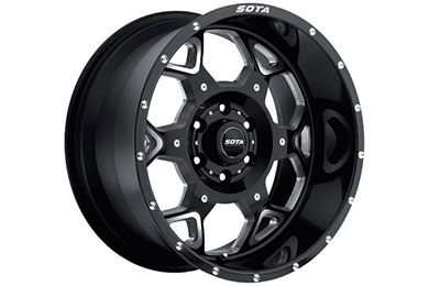 sota skul wheels 6 lug death metal black sample