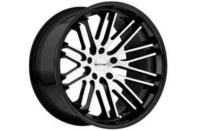 sothis sc3 wheels gloss black with machined face