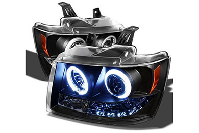 Chevy Tahoe Spyder Headlights