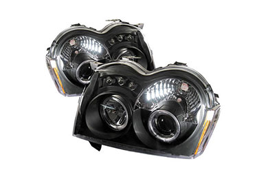 Jeep Grand Cherokee Spyder Headlights