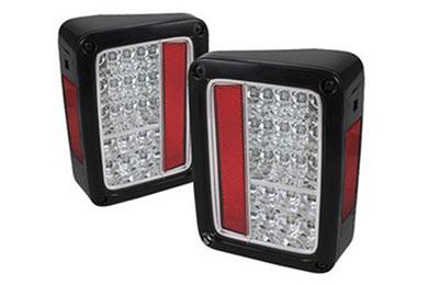 Jeep Wrangler Spyder LED Tail Lights