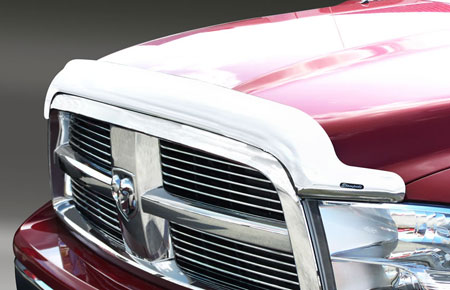 Stampede 2259 8 Stampede Vigilante Premium Vp Series Chrome Hood Protectors Autoanything