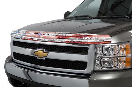 stampede cowboy up american flag