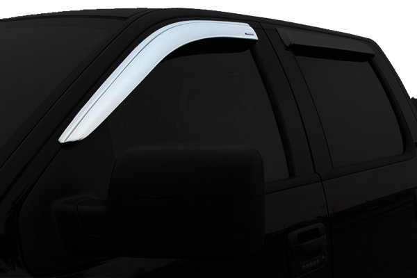 stampede tapeonz chrome window deflectors front sample