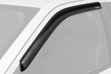 stampede tape-onz carbon fiber side window deflectors front sample