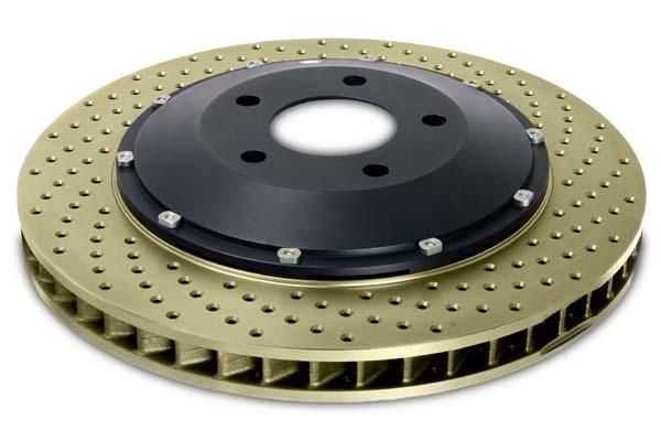 stop tech aerorotors single drilled zinc coated sample