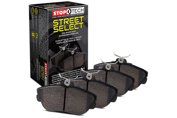 stoptech street select brake pads sample