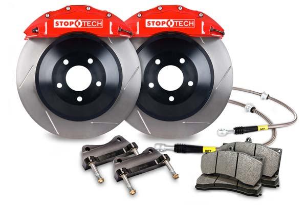 stoptech touring big brake kit 6 piston red slotted sample