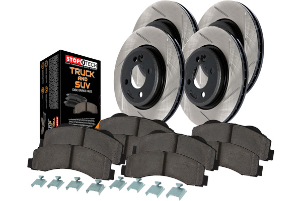 stoptech slotted truck brake kit 4 wheel sample