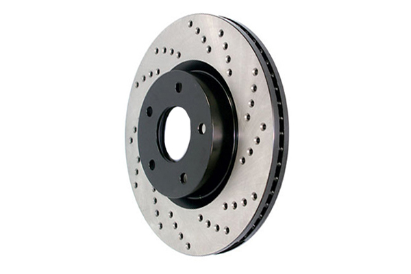 stoptech sportstop drilled brake rotors left