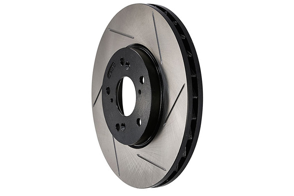 stoptech sportstop slotted brake rotors left